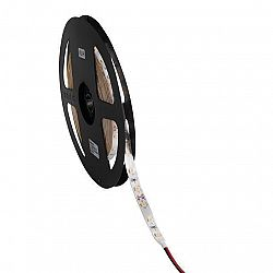 5m LED pásik hermetický do akvária 4.8W/m IP65 12V DC teplá biela