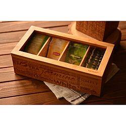 Bambusová krabička na čaj Bambum Tea&Coffee