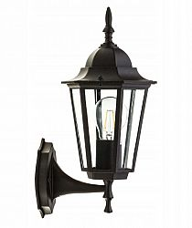 BRG LED nástenné svietidlo E27 - 36x20x17cm - čierna