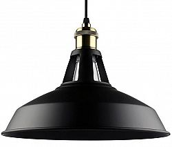BRG LED závesné stropné svietidlo B7066B - E27 - čierne