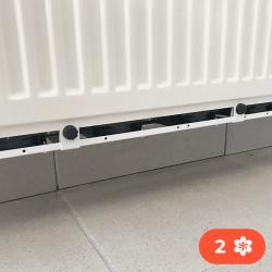 Cel Ventilátor pod radiátor Termík 2 ventilátory