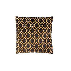 Černý polštář Dutchbone Ottava, 45x45cm