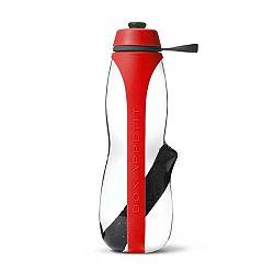 Červená sportovní filtrační lahev s binchotanem Black+Blum Eau Good Duo, 700ml