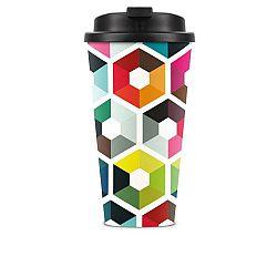 Cestovní hrnek Remember Hexagon, 450 ml