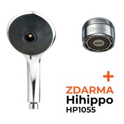 Chromová sprchová hlavice Pulse Eco 6l s perlátorem Hihippo HP1055
