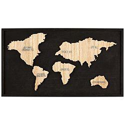 Dekorace Nástěnná Continent