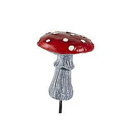 Dekorativní soška KJ Collection Mushroom, výška 9 cm
