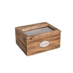 Dřevěná krabice na čaj Antic Line