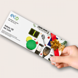 Ecoprodukt Dárkový poukaz v hodnotě 10 €
