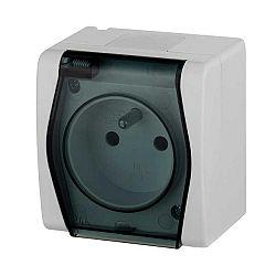 ELEKTRO-PLAST NASIELSK Elektro-Plast zásuvka 1-násobná 230V