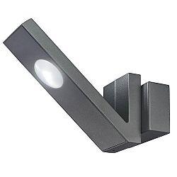 Esotec Nástenné led osvetlenie V-LINE (čierna)