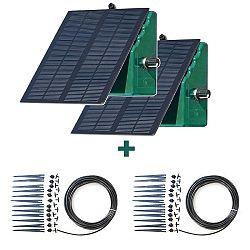 Irrigatia Solární automatické zavlažovaní 2 x Sol C- 24 + 2 x rozširující sada 12 okapávačů