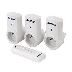 Kanlux 07980 APO  TM-3 Zásuvky na dálkové ovládání
