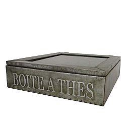 Kovový box na čaj Antic Line