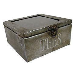 Kovový box na čaj Antic Line Zinc