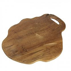 Krájecí prkénko z teakového dřeva HSM collection Flate, délka49cm
