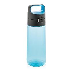 Láhev na vodu s uzamykatelným víčkem XD Design 600ml modrá