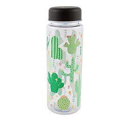 Lahev na vodu Sass & Belle Colourful Cactus, 450 ml