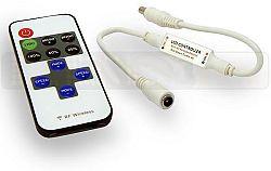 LED line® Mini RF stmievač led pásov DC 5-24V 6A s diaľkovým ovládaním