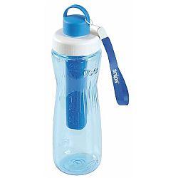 Modrá lahev na vodu s chladicím vnitřkem Snips Cooling,750ml