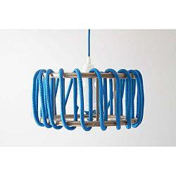 Modré stropní svítidlo EMKO Macaron, ø30 cm