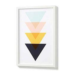 Obraz v bílém rámu La Forma Blanks