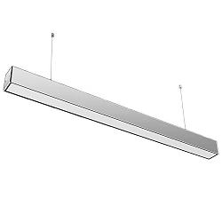 Optonica Závesné svietidlo LED Linear 40W 3400lm, strieborné - neutrálna biela