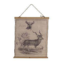 Plakát na bavlněném plátně Geese Antilope