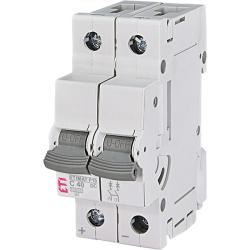 Poistkový odpínač pre C poistky ETI 264021100 P10-DC 2p C40