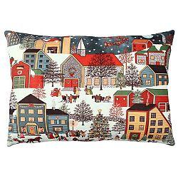 Polštář City in Snow, 33x48cm