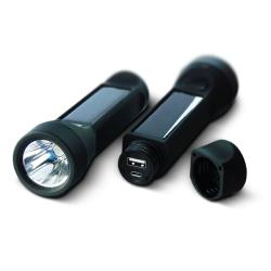 POWERplus Solární baterka a nabíječka 2v1 2400mAh s 3W LED lucernou Salamander