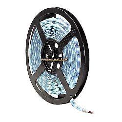 PREMIUMLUX 5m LED pás 300 SMD 3014 4.8W/m vodeodolný IP65  studená biela
