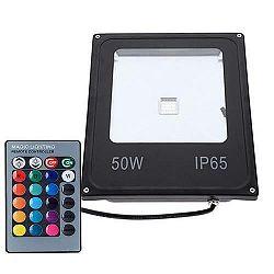 PREMIUMLUX RGB LED reflektor COB 50W  IR-RAINBOW s pamäťou