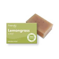 Přírodní mýdlo Friendly Soap citrónová tráva a konopí