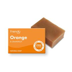 Přírodní mýdlo Friendly Soap pomeranč a grep