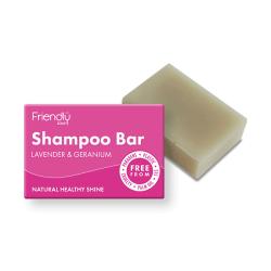 Přírodní mýdlo na vlasy Friendly Soap levandule a pelargónie