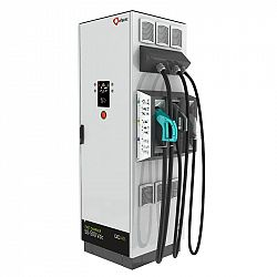 Rýchlonabíjecí stanice Efacec QC45 s konektorem CHAdeMO a CCS