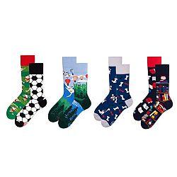 Sada 4 párů ponožek v dárkovém balení Many Mornings Adventure, vel.39–42