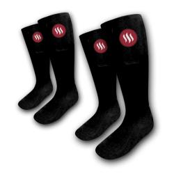 Sada Vyhřívané ponožky Glovii GQ velikost M a L s dálkovým ovládáním