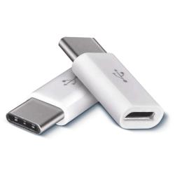 SOLAR Adaptér USB micro B/F - USB C/M balení 2ks