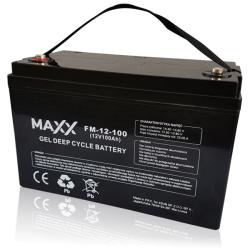 SOLAR Akumulátor gelový bezúdržbový MAXX 12-FM-100 100Ah 12V