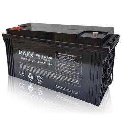 SOLAR Akumulátor gelový bezúdržbový MAXX 12-FM-120 120Ah 12V