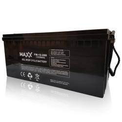 SOLAR Akumulátor gelový bezúdržbový MAXX 12-FM-200 200Ah 12V