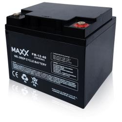 SOLAR Akumulátor gelový bezúdržbový MAXX 12-FM-40 40Ah 12V