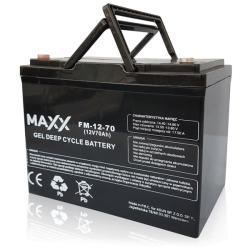 SOLAR Akumulátor gelový bezúdržbový MAXX 12-FM-70 70Ah 12V