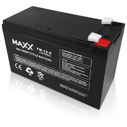 SOLAR Akumulátor gelový bezúdržbový MAXX 12-FM-9 9Ah 12V
