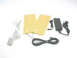 SOLAR Elektrický ohřívač do malých prostor TF95 12V / 72W s termostatem