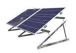 SOLAR Konstrukce na rovnou střechu pro 4 FV panely