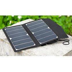 SOLAR Solární nabíječka 5V USB 14W přenosná
