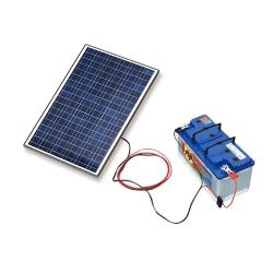 SOLAR Solární nabíječka autobaterií 115W/12V